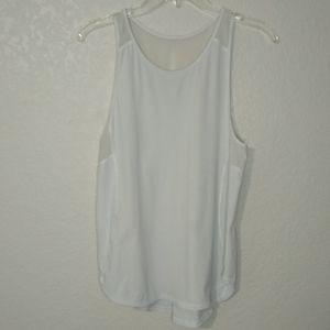Lululemon mesh sleeveless layering tank top